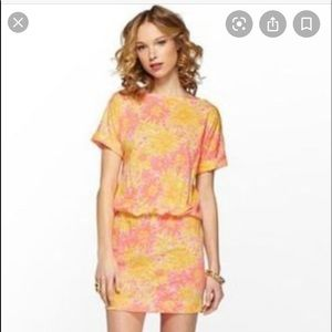 Lily Pulitzer Carmine Dress in sunkissed.